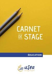 Couverture de Carnet Stage Education